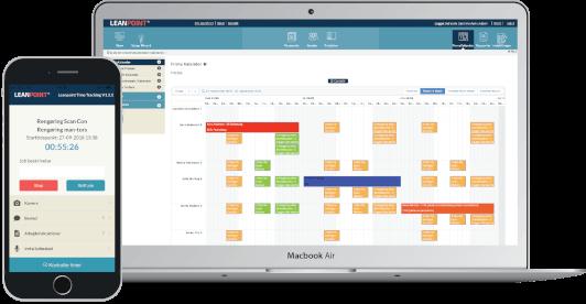 LeanPoint App og kalender